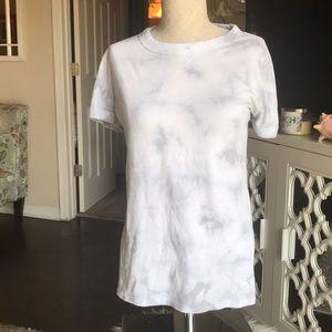 "Blue/grey tie dye ""PINK, VICTORIA SECRET"" t-shirt"
